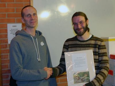 Grattis Grodkollen till Årets Herpetolog 2014!