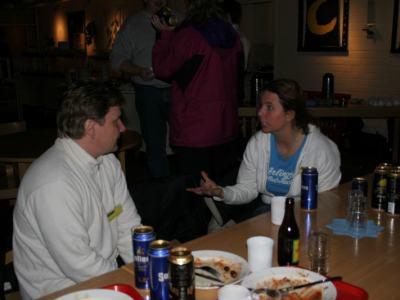 Timo och Linn på Symposium 2005