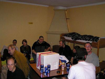 Trevligt på vandrarhemmet, ExpoSyd 2004