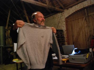 Gammal tröja och Claes