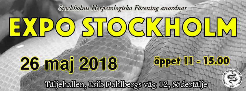 Expo Stockholm 26 maj