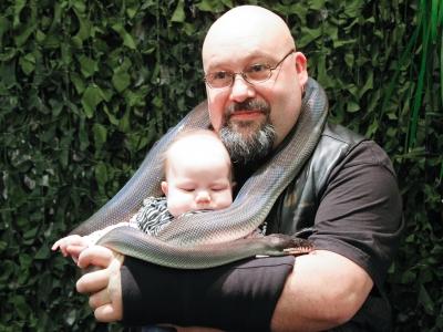 Mats med barn plus orm